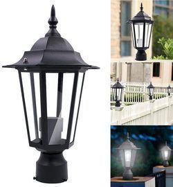 Outdoor Post Light Pole Lantern Fixture