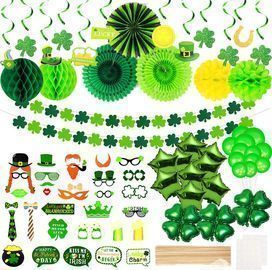 80 PCS St Patricks Day Decorations