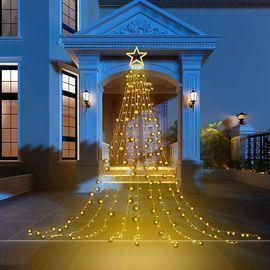 16.4' Outdoor Star String Lights