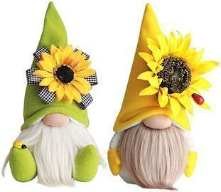 IZHH Bumble Bee Striped Gnomes