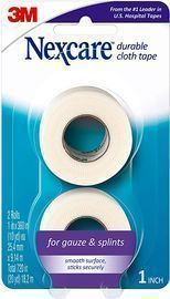 Nexcare Durable Cloth First Aid Tape, 2 Rolls
