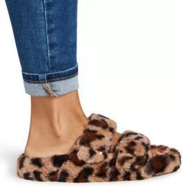 Steve Madden Around Double-Band Footbed Slippers (Sizes 5-7)