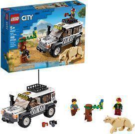 168-Piece Lego City Safari Off Roader
