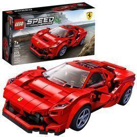 LEGO Speed Champions 275pc Ferrari F8 Tributo Racing Model Car