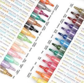 Acrylic Paint Markers - 28 Colors
