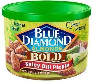 6oz Blue Diamond Almonds, Bold Spicy Dill Pickle