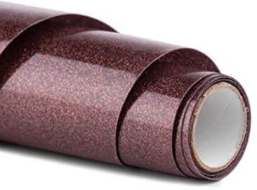Glitter HTV Vinyl - 12 x 5ft PU Heat Transfer Vinyl roll