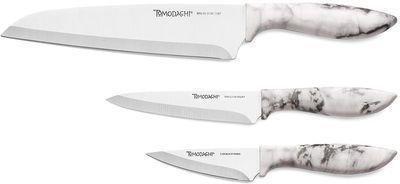 Tomodachi Splash Marble Finish 3pc Cutlery Set