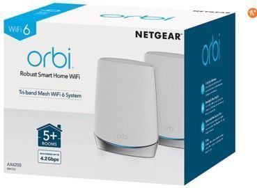 Netgear Orbi RBK752 Whole Home Mesh WiFi Router System