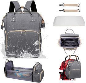 Aiwithpm 3-in-1 Waterproof Diaper Bag