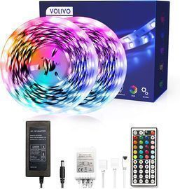 2 Rolls of 16' Volivo RGB LED Strip Lights