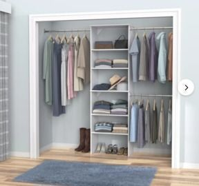 ClosetMaid SuiteSymphony 10-Ft. Closet System Starter Kit