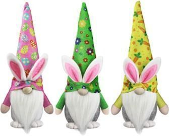 Easter Bunny Gnomes - 3Pk