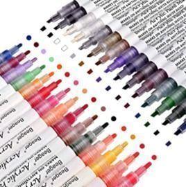 Acrylic Paint Markers - 28 pk