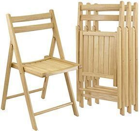 Winsome Robin 4pc Folding Chair Set, Parent