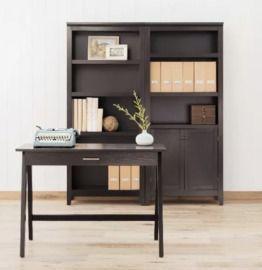 Paulo 62 Wood Writing Desk with Drawer (Various Colors)