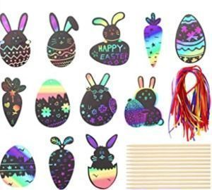 Easter Scratch Paper Arts and Crafts