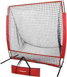 ZENSTYLE Portable 5'x 5' Baseball & Softball Practice Net