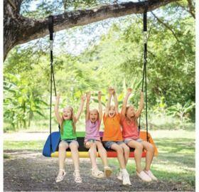 Giant 60 inch 700lb Outdoor Platform Swing