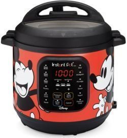 Disney Mickey Mouse 6QT Instant Pot Duo 7-in-1 Electric Pressure Cooker