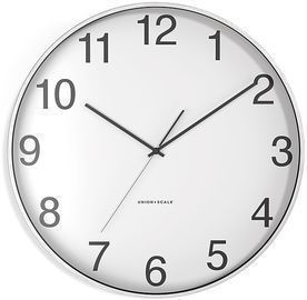 Union & Scale 12 Essentials Wall Clock