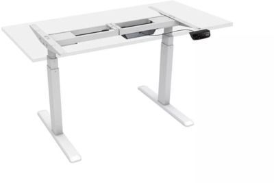 Monoprice Height Adjustable Sit-Stand Riser Table Desk Frame