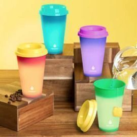 Manna Hot Color Changing To-Go Cups - 12-pack