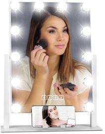 Hollywood Vanity Mirror w/ Speaker, LED Lights, & Phone Stand