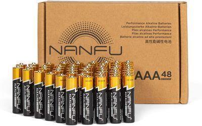 Alkaline Batteries AAA 48 Pack