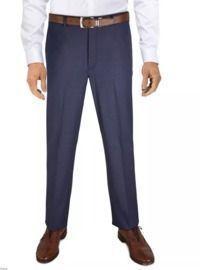 Ralph Lauren Men's Pattern Classic-Fit Ultraflex Stretch Dress Pants