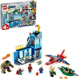 LEGO Marvel Avengers Wrath of Loki Playset (76152)