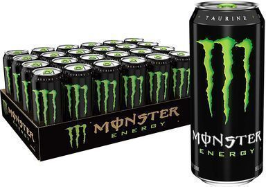 24pk of Monster Energy Drink, 16 Ounce