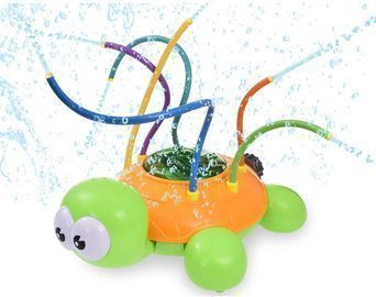 Spinning Tortoise Sprinkler Toy
