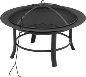 Mainstays 28 Fire Pit w/ PVC Cover & Spark Guard