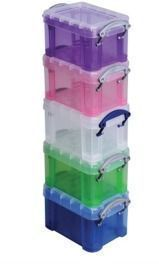 Really Useful Box Plastic Storage Container 5-Pack