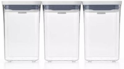 OXO Pop 3-Piece Food Storage Container Value Set