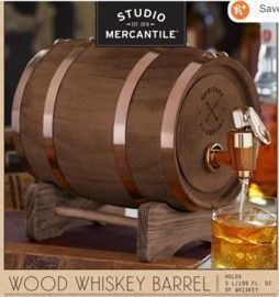 Studio Mercantile 5L Whiskey Barrel
