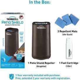 Thermacell Patio Shield Mosquito Repellent (MR-PSL)
