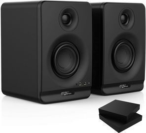 Donner 3 Bluetooth Studio Monitors (2-Pack) w/ Isolation Pads