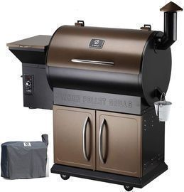 Z Grills Wood Pellet Grill Smoker w/ Digital Controls