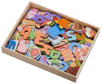 Spark. Create. Imagine. Wooden Magnetic Pieces, 131 Count