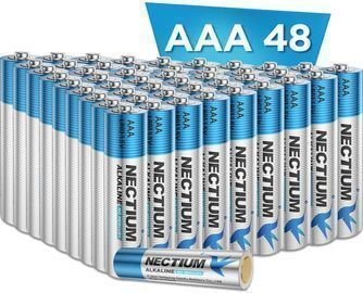Alkaline Batteries AAA-48 Pack