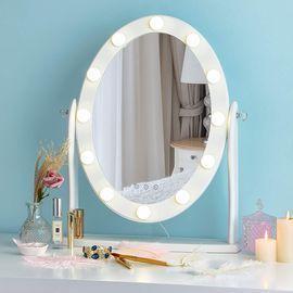 Hollywood Lighted Vanity Makeup Mirror