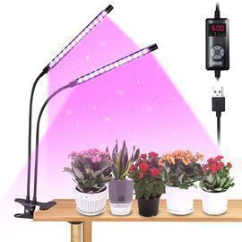 Jesled Gooseneck LED Grow Lights for Indoor Plants