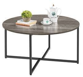 SmileMart Round Coffee Table
