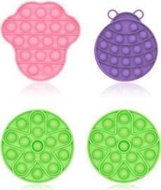 Bubble Sensory Fidget Toy - 4pk