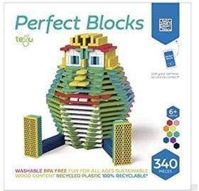 Tegu 340 Piece Perfect Blocks Building Set