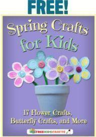 Free AllFreeKidsCrafts Spring Crafts eBook