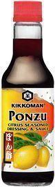 Kikkoman 10oz Soy Sauce, Ponzu Citrus