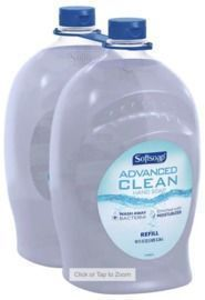 2PK of Softsoap Advanced Clean Hand Soap 80 fl. oz.
